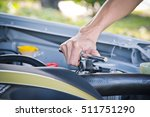check the condition of the car... | Shutterstock . vector #511751290