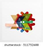 vector sale christmas banner... | Shutterstock .eps vector #511752688
