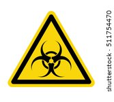 biohazard sign   biohazard... | Shutterstock .eps vector #511754470