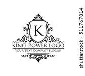 luxury logo | Shutterstock .eps vector #511767814