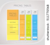 pricing comparison table set...