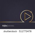 abstract creative concept... | Shutterstock .eps vector #511773478
