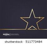 abstract creative concept... | Shutterstock .eps vector #511773484
