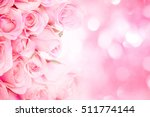 close up sweet light pink on... | Shutterstock . vector #511774144