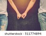valentine day background. love... | Shutterstock . vector #511774894