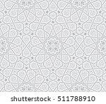islamic star ornament grey...