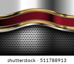 abstract metal background  eps10 | Shutterstock .eps vector #511788913