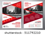 business brochure. flyer design.... | Shutterstock .eps vector #511792210