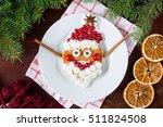 Santa Pancake For Kids...