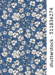 seamless floral pattern in... | Shutterstock .eps vector #511836274