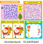set of puzzle games for... | Shutterstock .eps vector #511839664