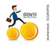 growth see the future concept | Shutterstock .eps vector #511853956