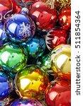 christmas ball texture real... | Shutterstock . vector #511854364