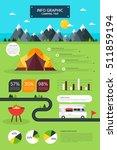travel info graphic illustration | Shutterstock .eps vector #511859194