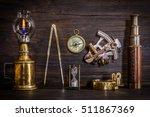 Compass  Nautical Lamp  Sextant ...