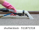 carpet chemical cleaning with... | Shutterstock . vector #511871518