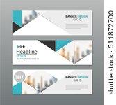 banner business layout template ... | Shutterstock .eps vector #511872700