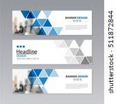 banner business layout template ... | Shutterstock .eps vector #511872844