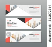 banner business layout template ... | Shutterstock .eps vector #511872964