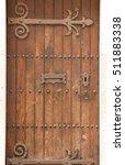 antique door retro style... | Shutterstock . vector #511883338