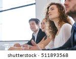 business people in seminar... | Shutterstock . vector #511893568