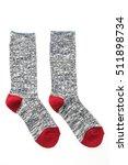 pair of sock for clothing... | Shutterstock . vector #511898734