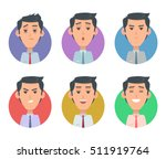 avatar userpics of emotions.... | Shutterstock .eps vector #511919764