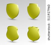 four protection shield concept. ... | Shutterstock .eps vector #511927960