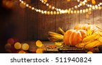 happy thanksgiving day... | Shutterstock . vector #511940824