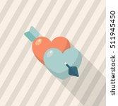 valentine's day love icon  ...   Shutterstock .eps vector #511945450