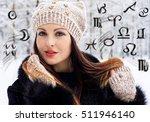 astrology  twelve zodiac signs | Shutterstock . vector #511946140