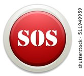 sos button | Shutterstock .eps vector #511949959
