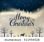 holiday greeting card with... | Shutterstock .eps vector #511954528