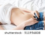 blurred motion young sexy asian ... | Shutterstock . vector #511956838