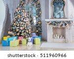 Christmas Living Room With...