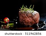 premium beef steak | Shutterstock . vector #511962856