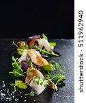 haute cuisine  gourmet food... | Shutterstock . vector #511962940