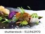 haute cuisine  gourmet food... | Shutterstock . vector #511962970