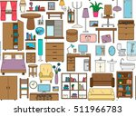 seamless pattern with icons for ... | Shutterstock . vector #511966783