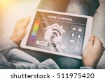 home smart system automated... | Shutterstock . vector #511975420