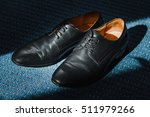 men's classic black leather... | Shutterstock . vector #511979266
