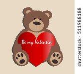 Greeting Card Be My Valentine....