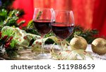Red Wine Glasses And Christmas...