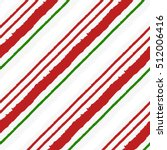 candy cane grunge stripes...   Shutterstock .eps vector #512006416