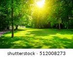 sunrise in summer beautiful... | Shutterstock . vector #512008273