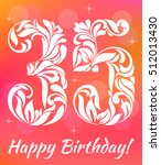 bright greeting card template.... | Shutterstock .eps vector #512013430