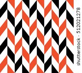 retro geometric seamless... | Shutterstock .eps vector #512021278
