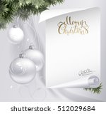 holiday light background with... | Shutterstock .eps vector #512029684