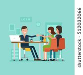 vector concept of personal... | Shutterstock .eps vector #512032066