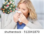 healthcare  flu  christmas  and ... | Shutterstock . vector #512041870